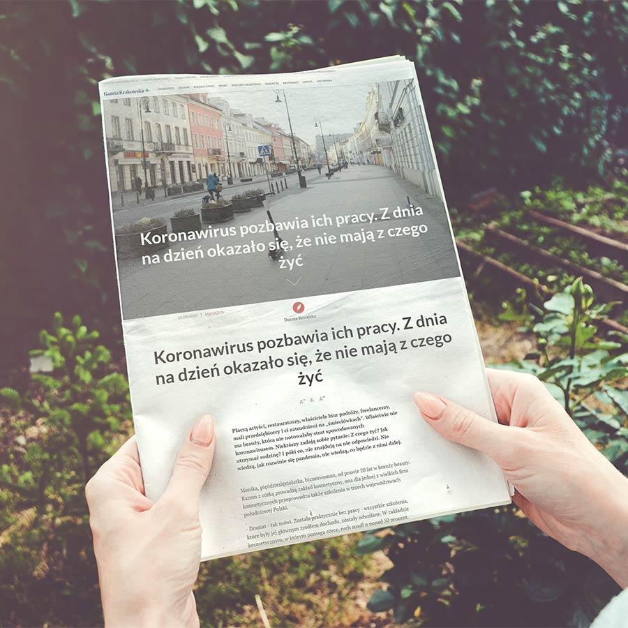 Artykuł – Gazeta Krakowska